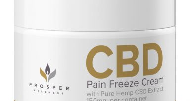 prosper cbd pain freeze cream review